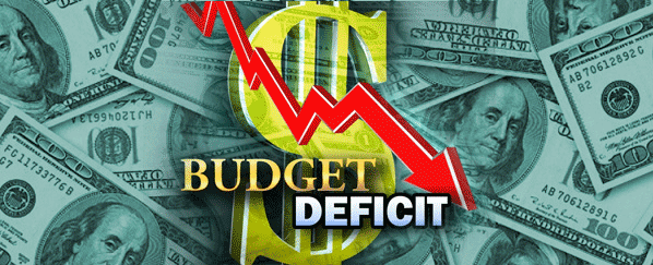 April-May Fiscal Deficit is 45.6% of Budget