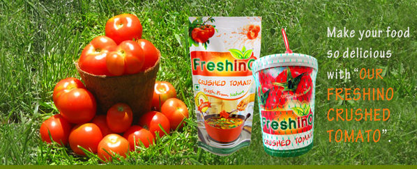 Freshino Crushed Tomato Manufacturer to Diversify its Network in India