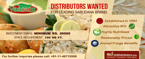 Indulge in Healthy Food Business as a Sago Distributor: Sri Venkateswara Sago Factory