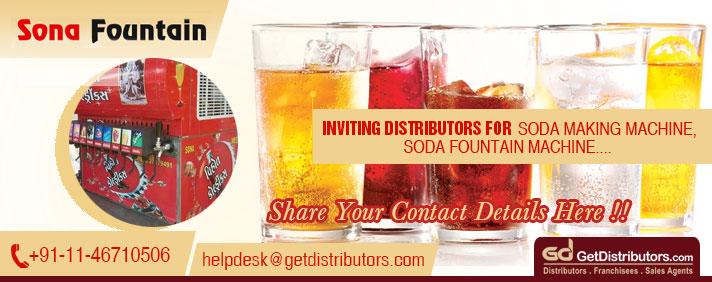 Soda Dispensers For Restaurants, Malls, Hotels, Convenience Stores Etc.