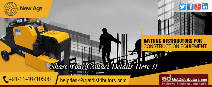 Minutely Designed Construction Equipments For Optimum Functionality