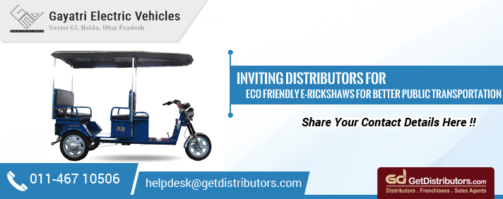 Eco Friendly E-Rickshaws For Better Public Transportation