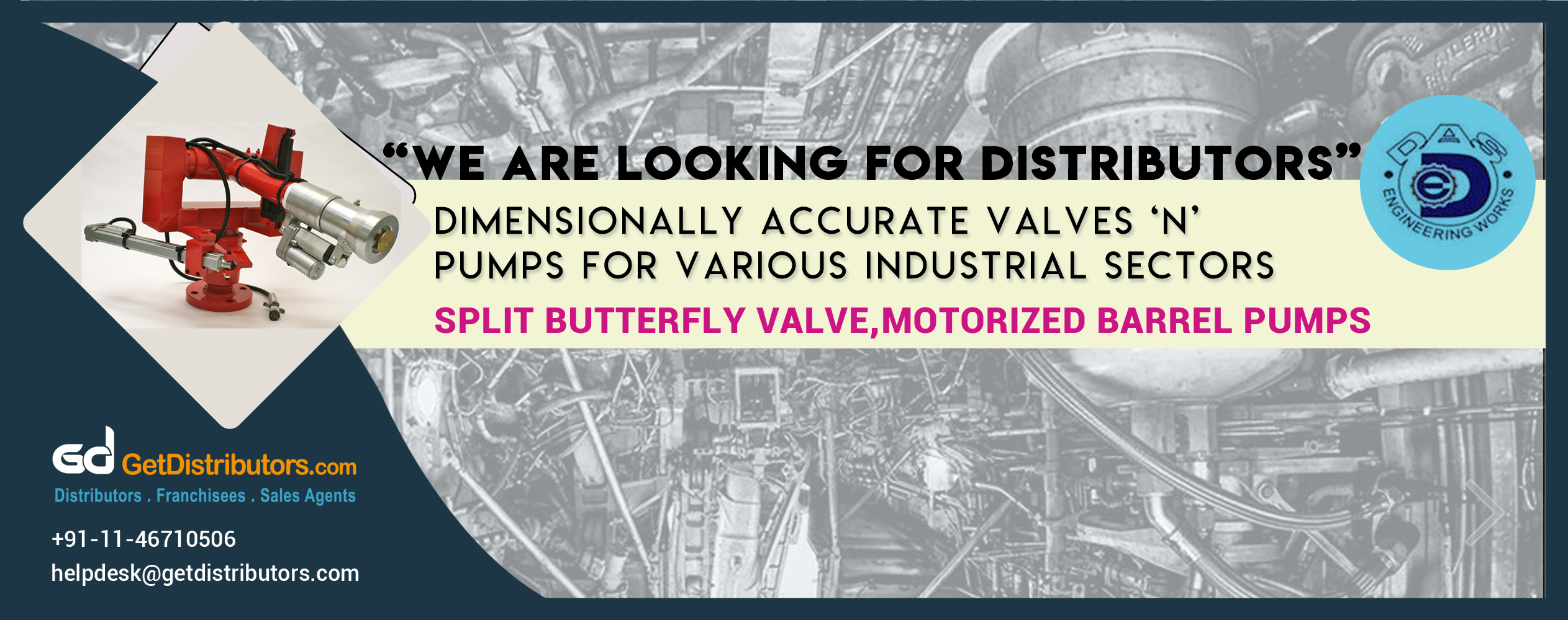 Dimensionally Accurate Valves & Pumps for Various Industrial Sectors
