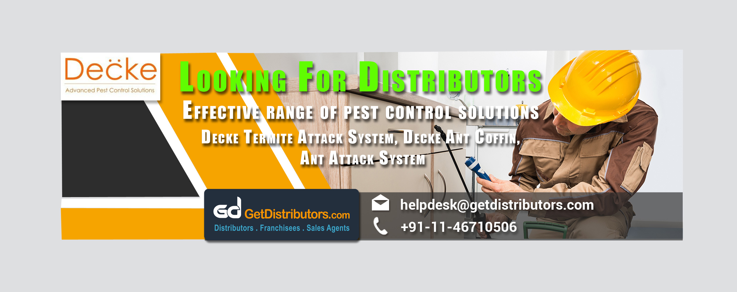 Decke Innovative Products Offering Effective Range of Pest Control Solutions