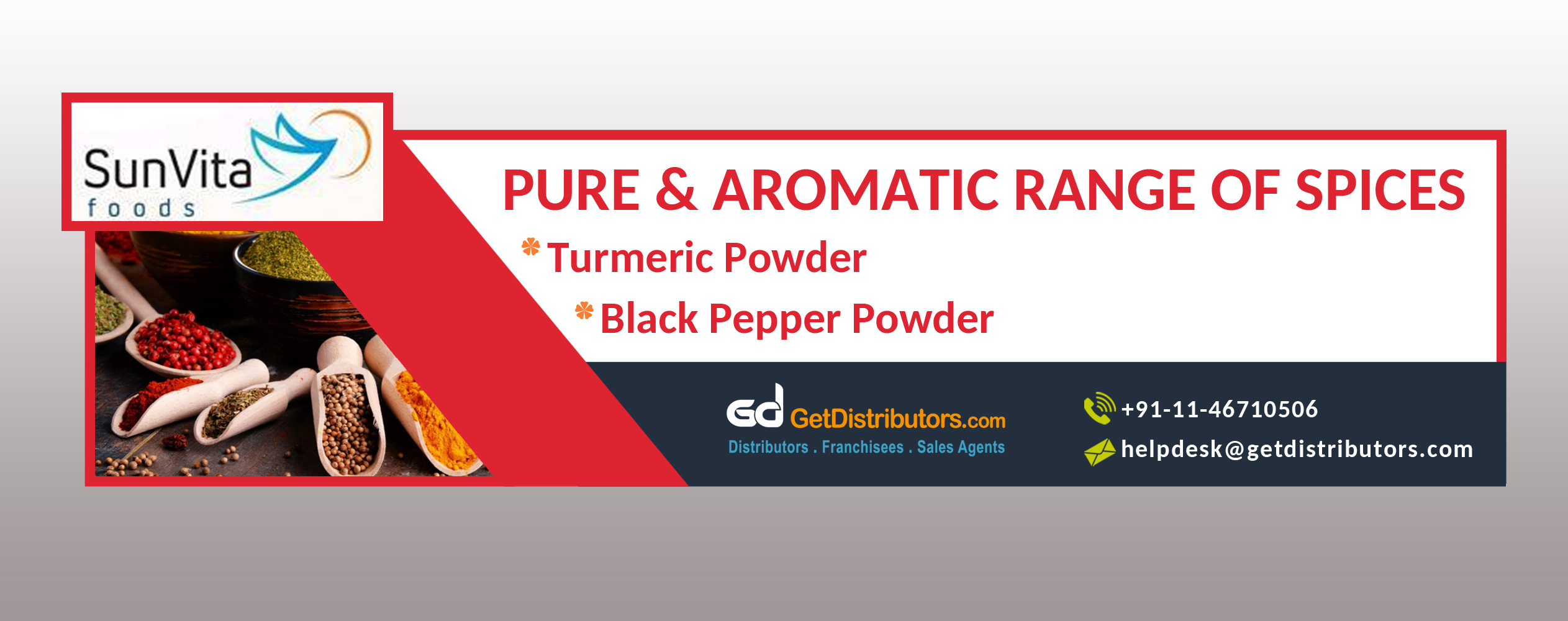 Pure & Aromatic Range of Spices