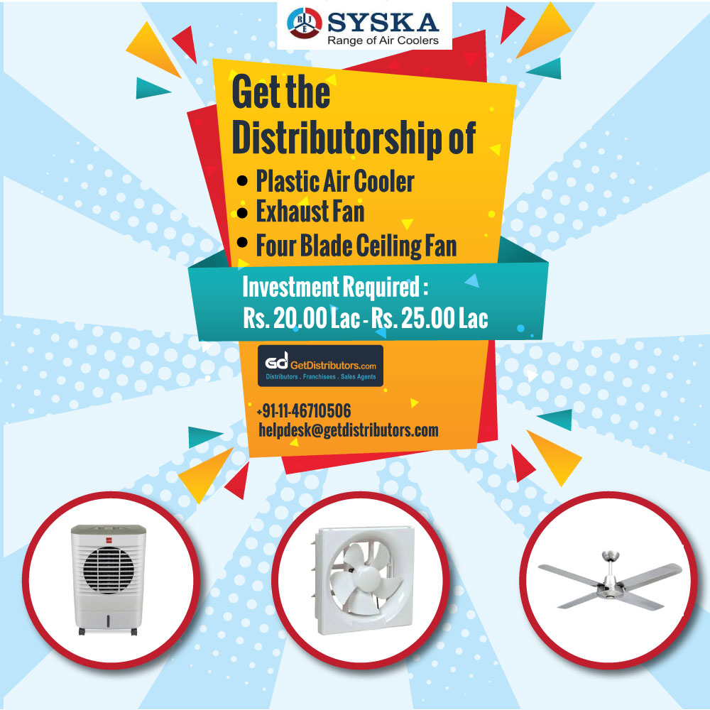 SYSKA is The Right Choice for Your Air Cooling Needs