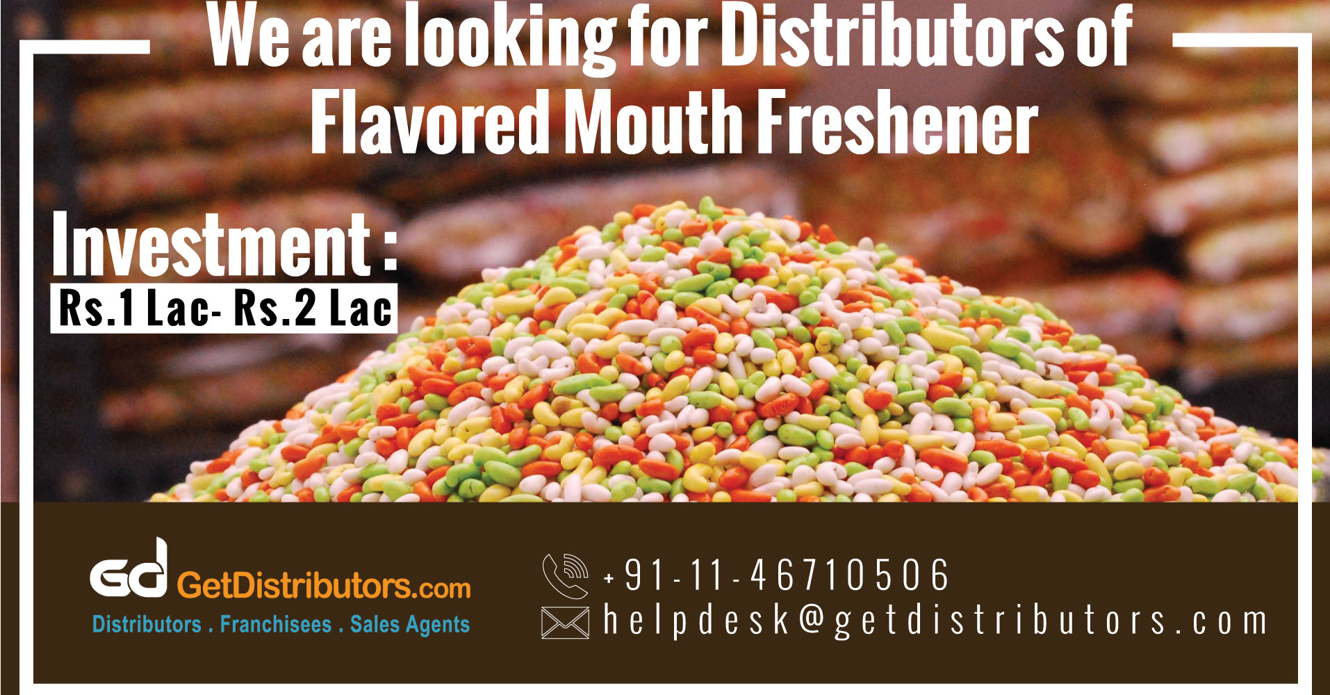 Mouth Fresheners With a Refreshing Taste