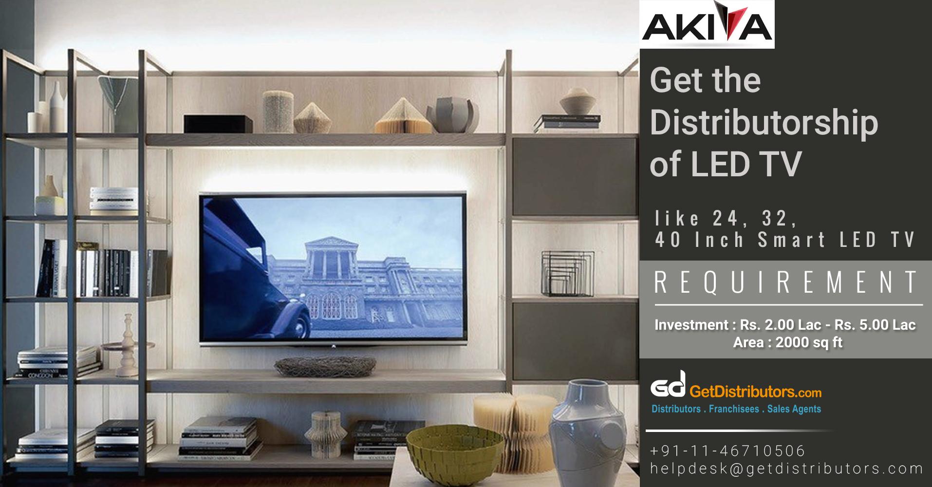 Genuine TVs Distributorship At Affordable Prices