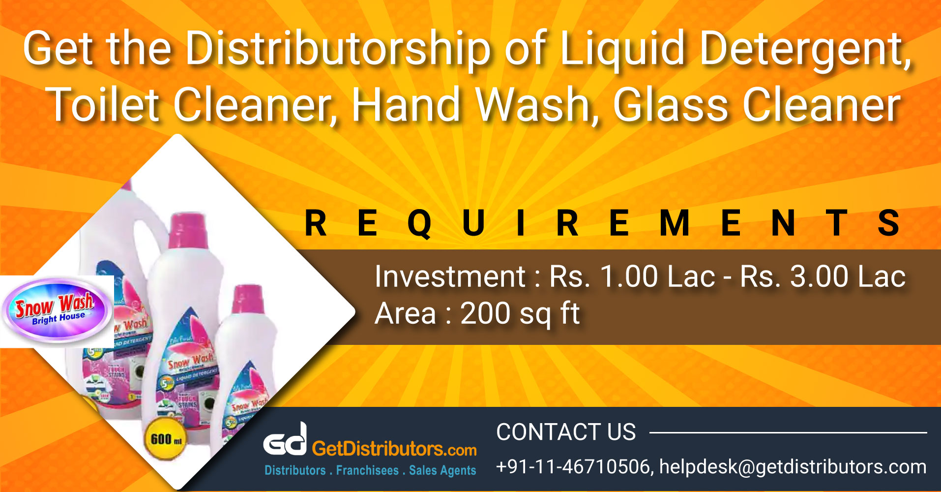 Eco Friendly Detergent Powder and Housekeeping Products