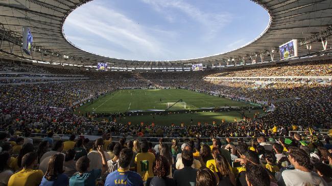 Brazil England Soccer