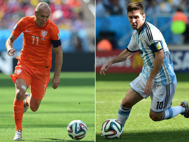 FIFA 2014 World Cup 2014 2nd Semi Final: Argentina Defeated the Netherlands 4-2 on Penalties