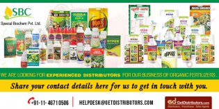 Seeking for experienced distributors: Special Biochem Pvt. Ltd