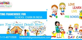 Franchise offer for day care and activity center under Incredible Heights Education Pvt. Ltd.