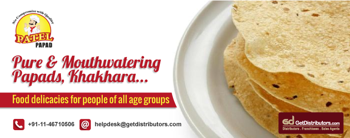Pure & Mouthwatering Papads, Khakhara Etc.