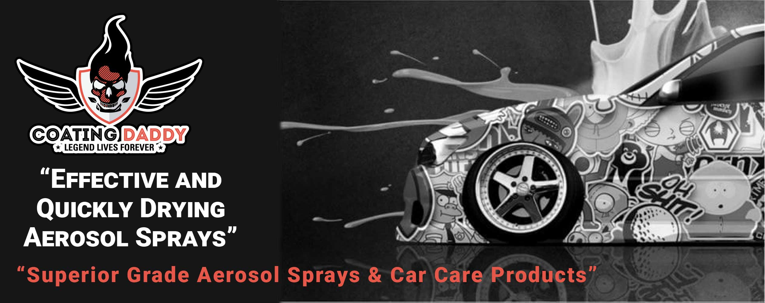 Effective And Quickly Drying Aerosol Sprays