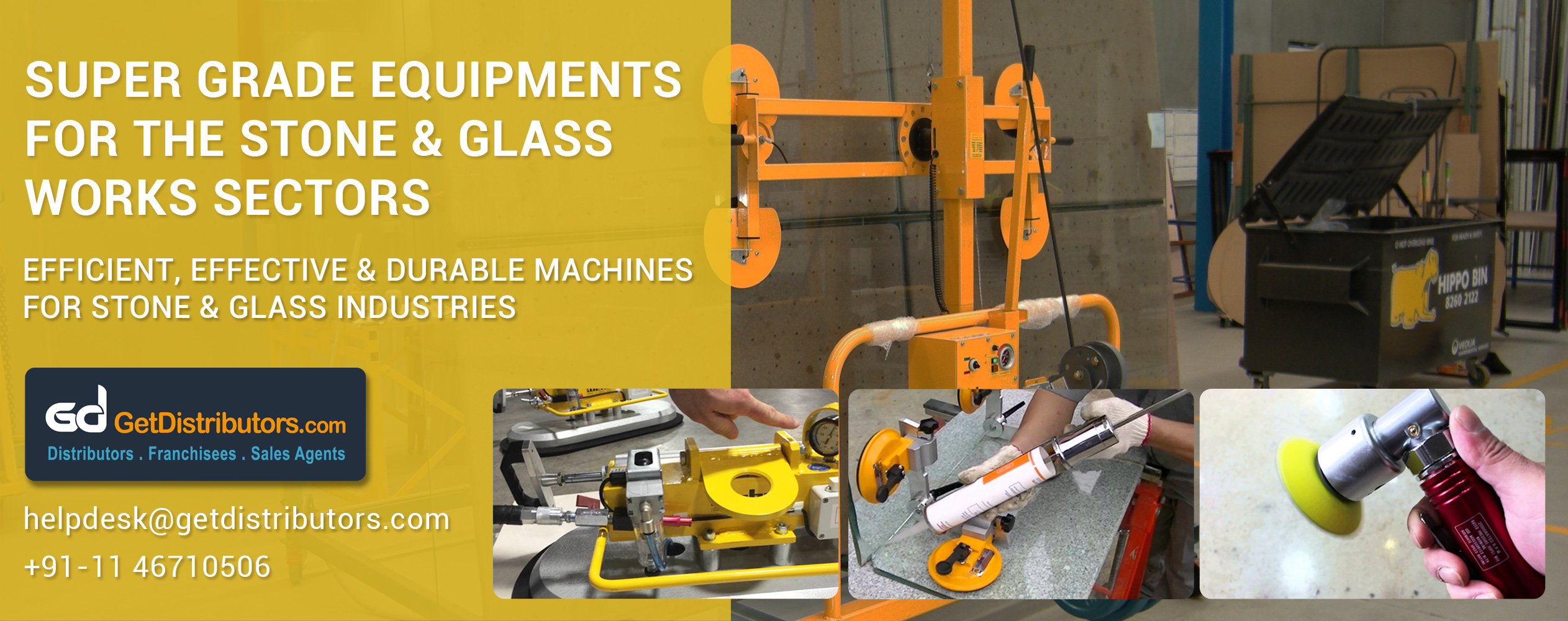 Efficient, Effective & Durable Machines For Stone & Glass Industries