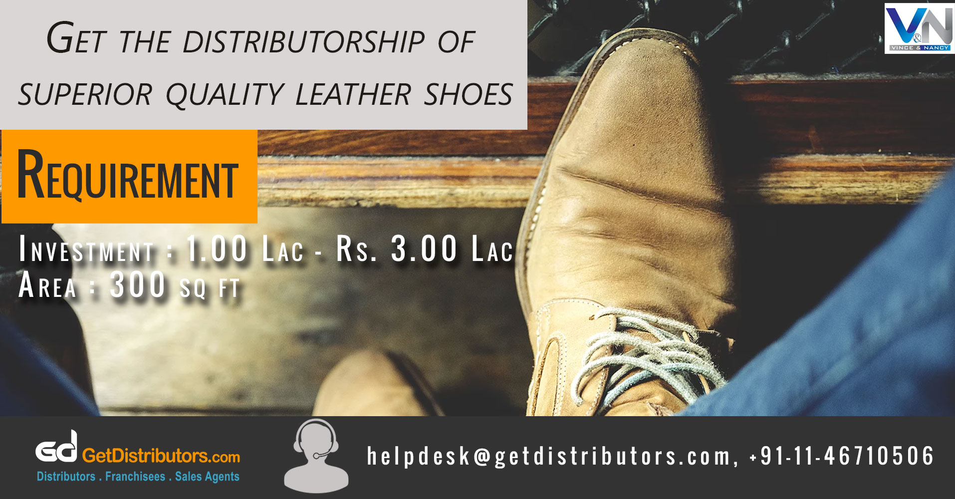 Novel Designed & Durable Footwear