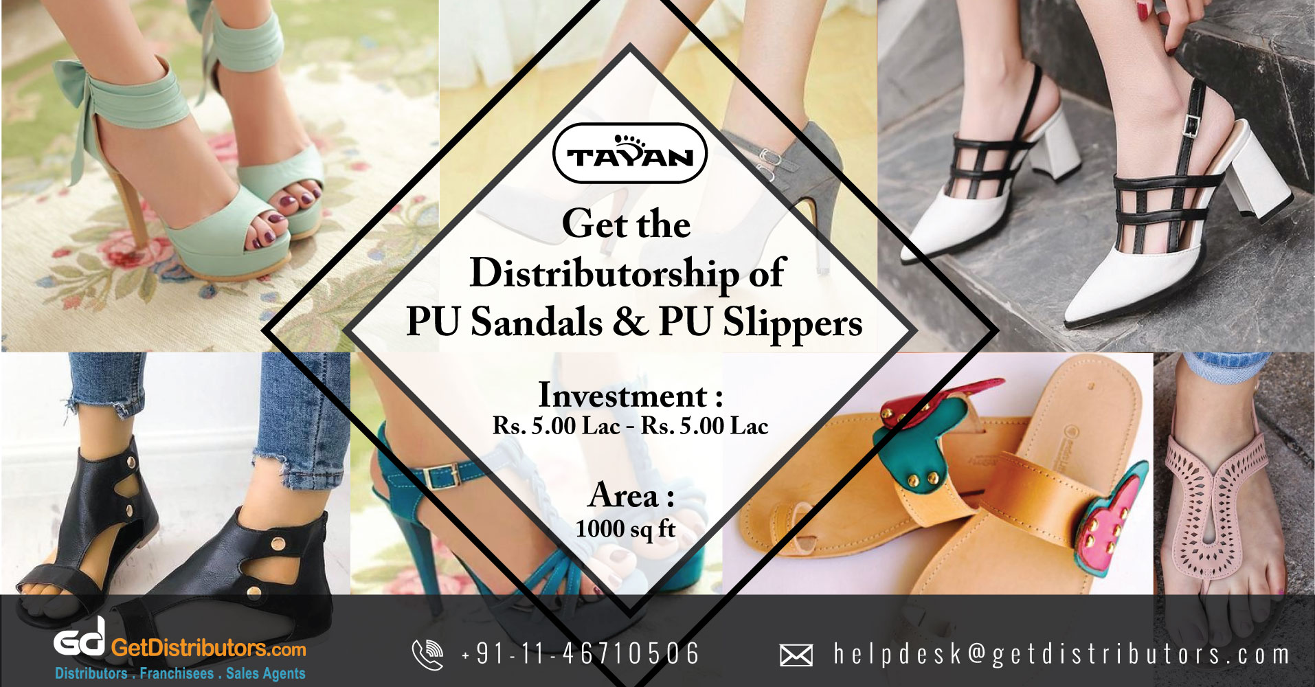 Comfortable and Light Weight PU Footwear Distributor