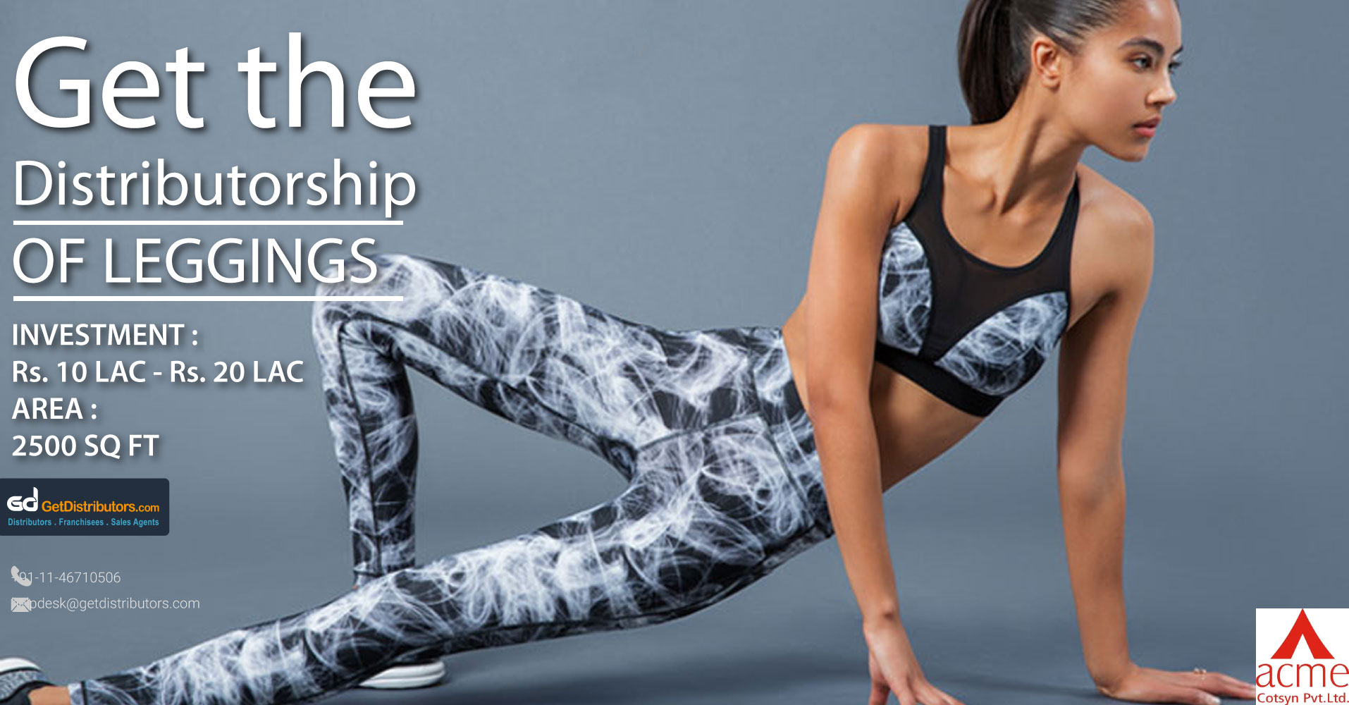Comfortable and Skin Friendly Leggings By Acme Cotsyn Pvt Ltd
