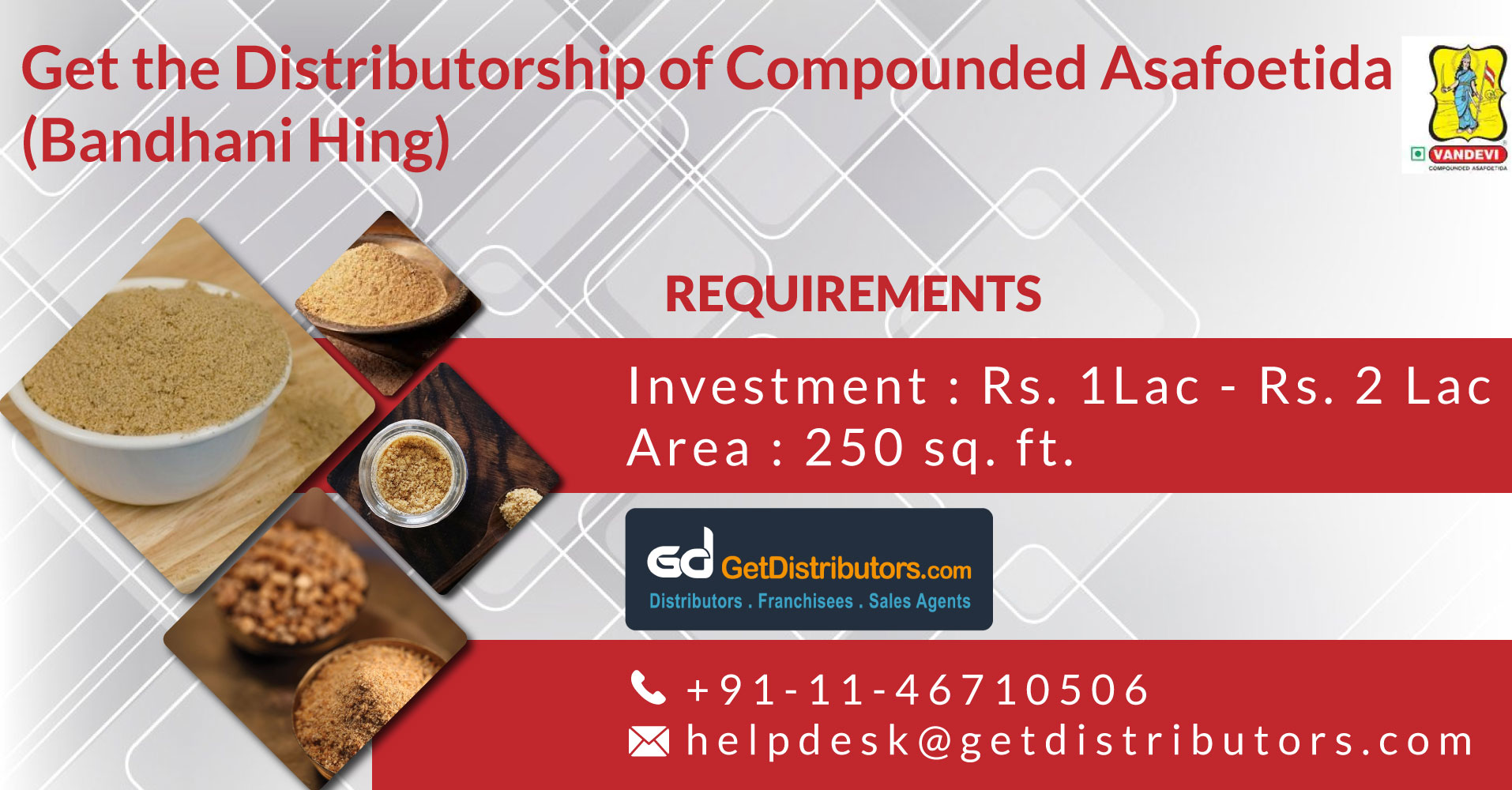 Authentic Compounded Asafoetida (Hing) At Competitive Prices