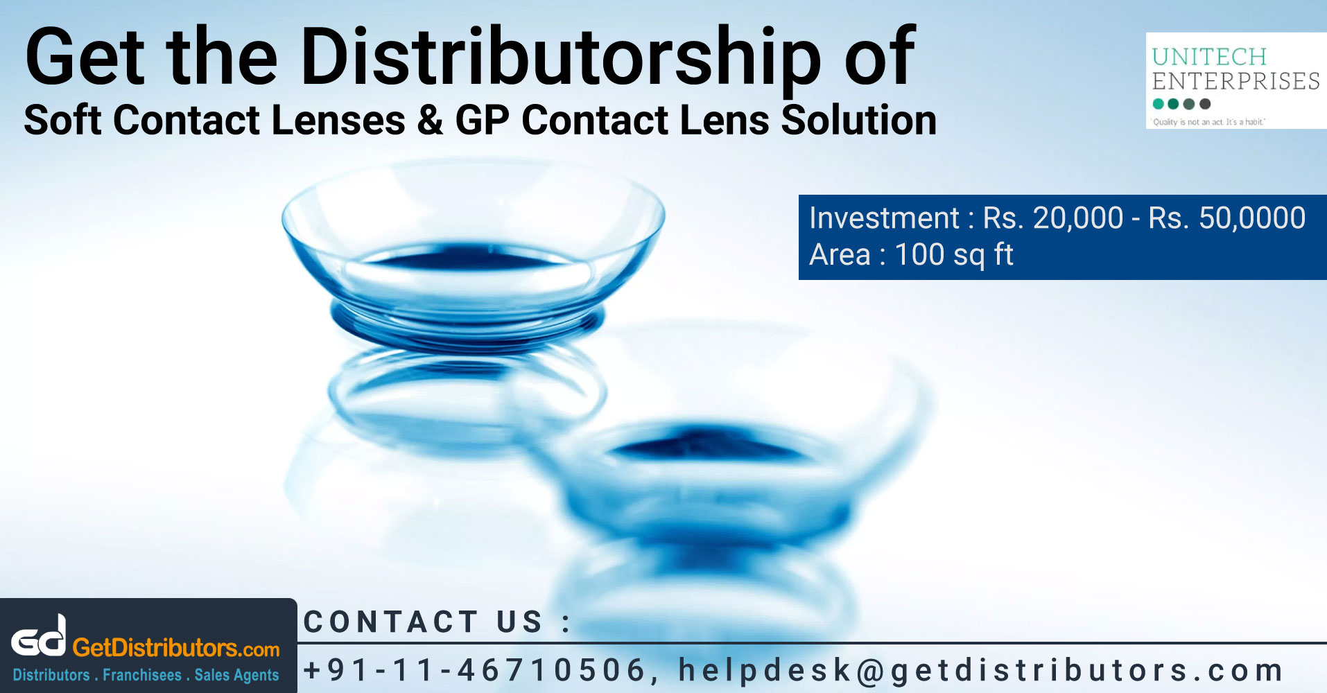 Effective Soft Contact Lenses & Solution At Pocket Friendly Prices