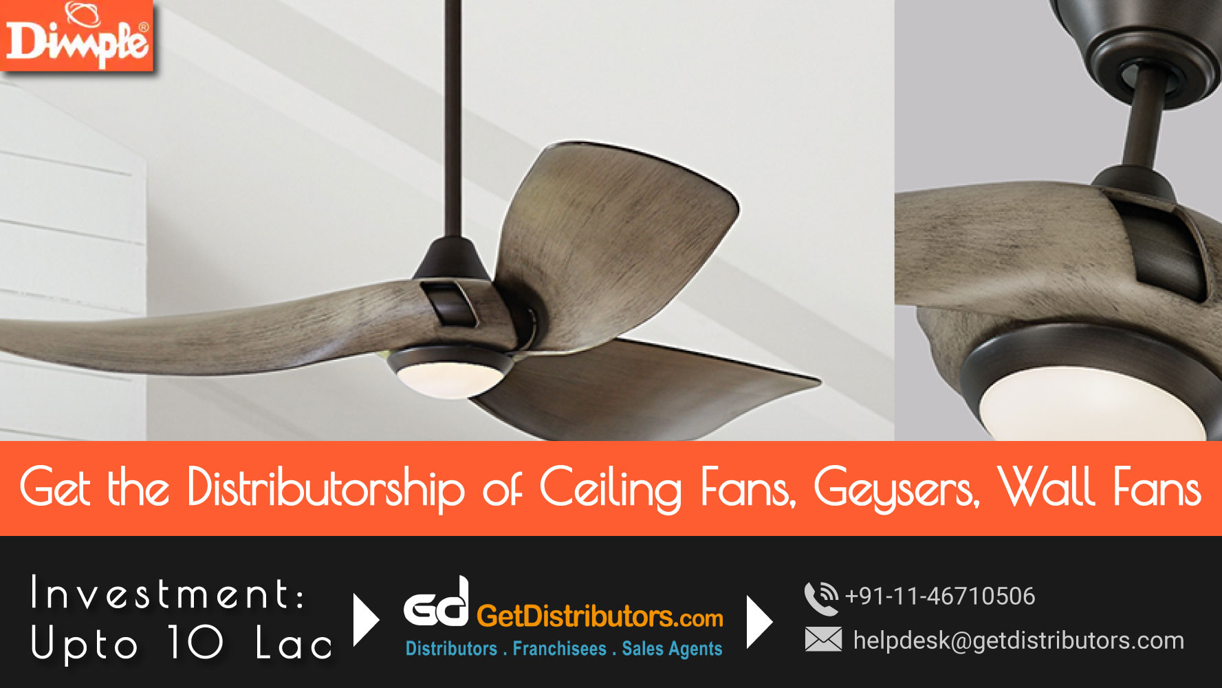 High Performance Ceiling Fans & Geysers That Are Affordable