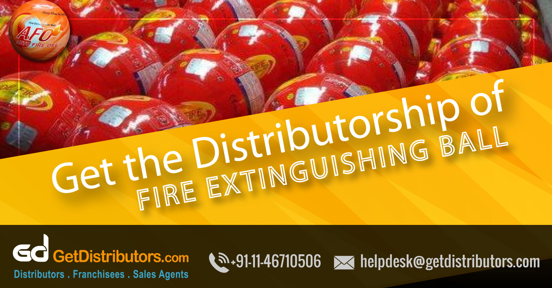Easy To Handle AFO(Auto Fire Off) Fire Extinguisher Balls At Affordable Prices