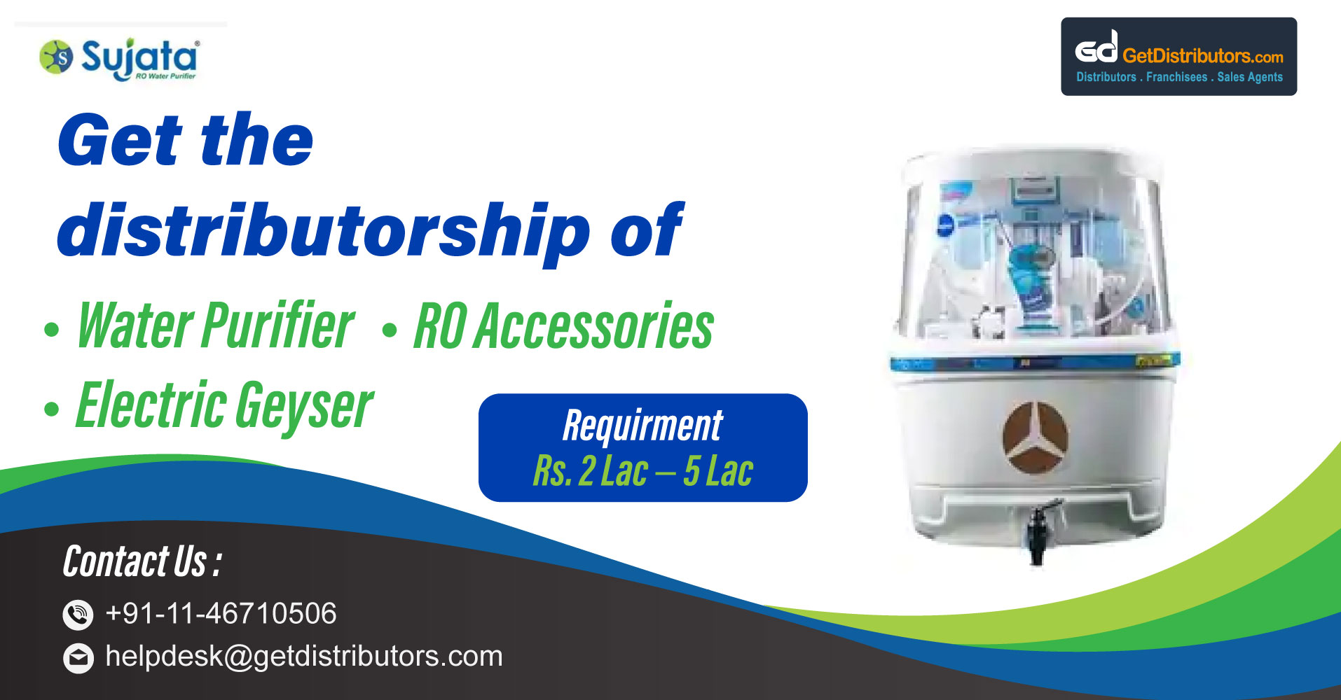 Distributorship Of Cost Efficient High-End Home Appliances To Make Your Life Easy