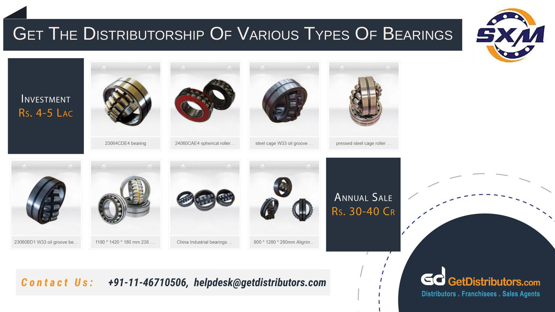 Sturdy Bearings Distributorship At Affordable Prices