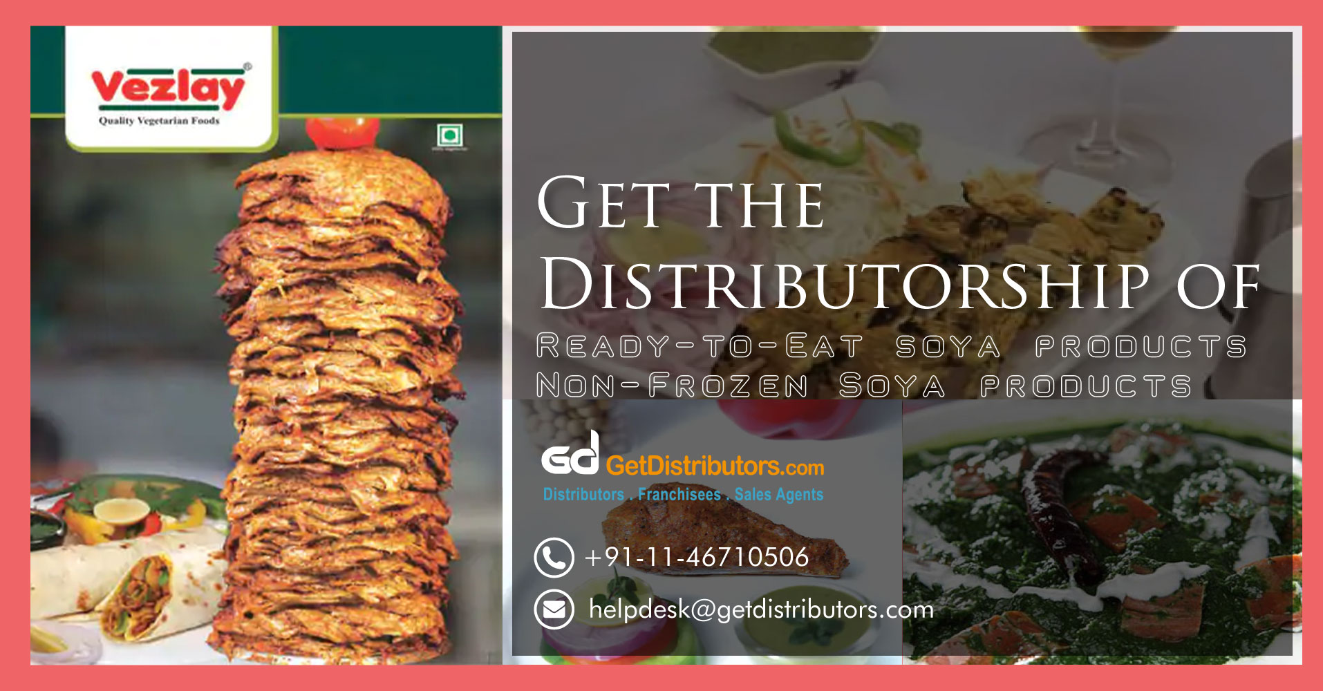 The Distributorship Of Ready To Eat Soya Products