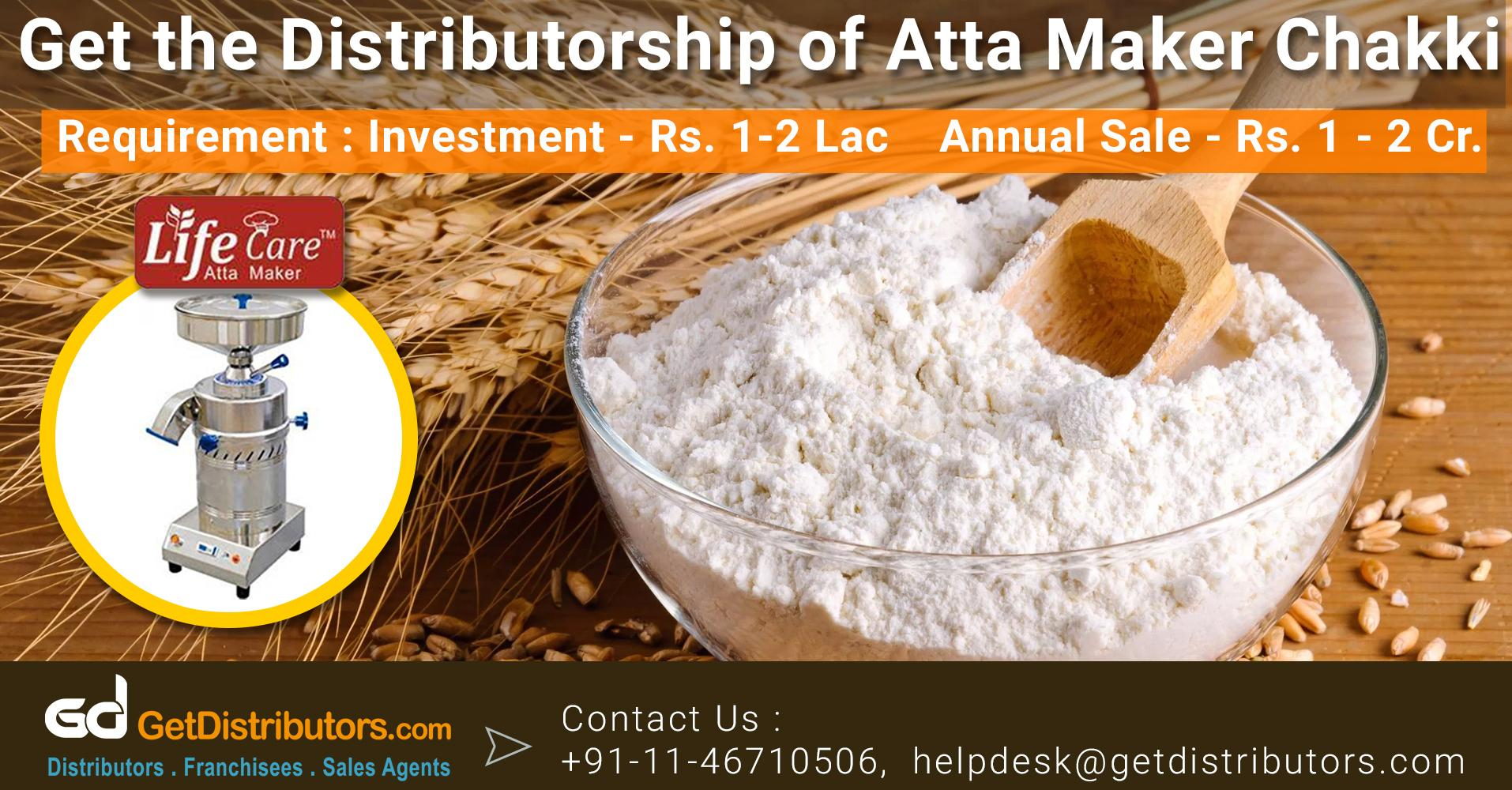 Distributorship Of Fast And Flawless Quality Atta Maker Machine