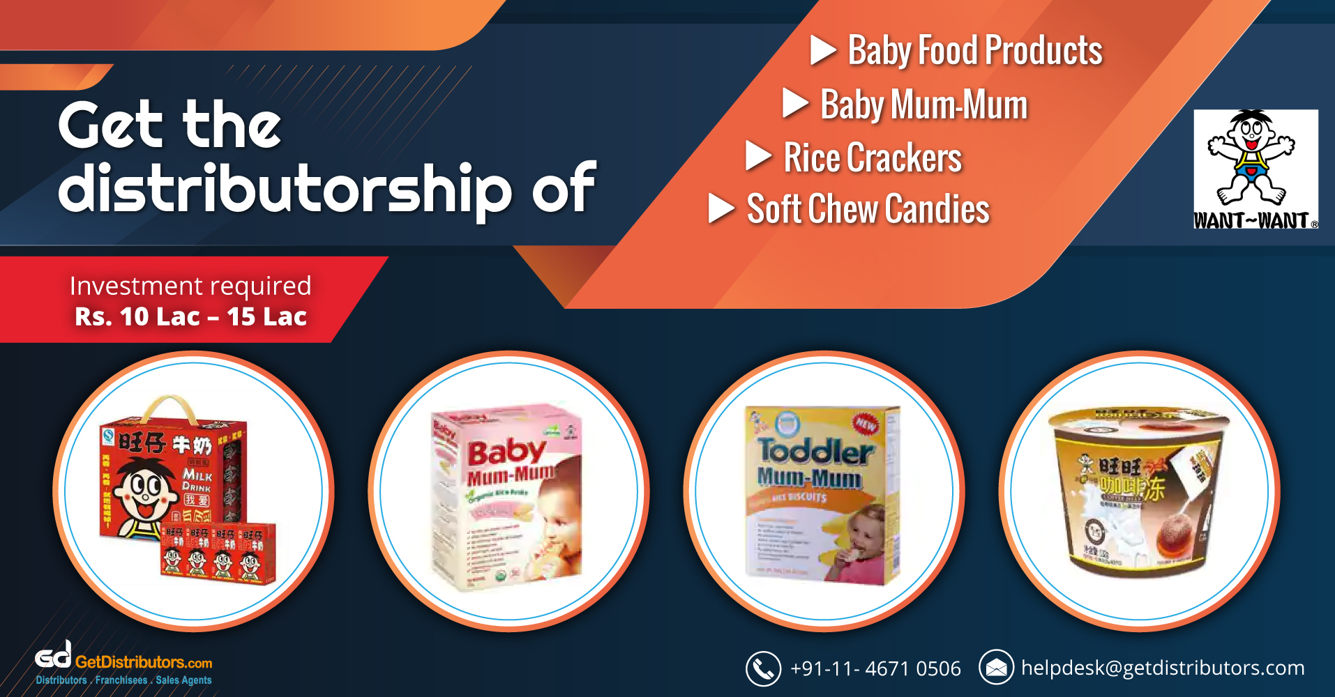 Winning Tactics To Get Baby Food Products Distributorship