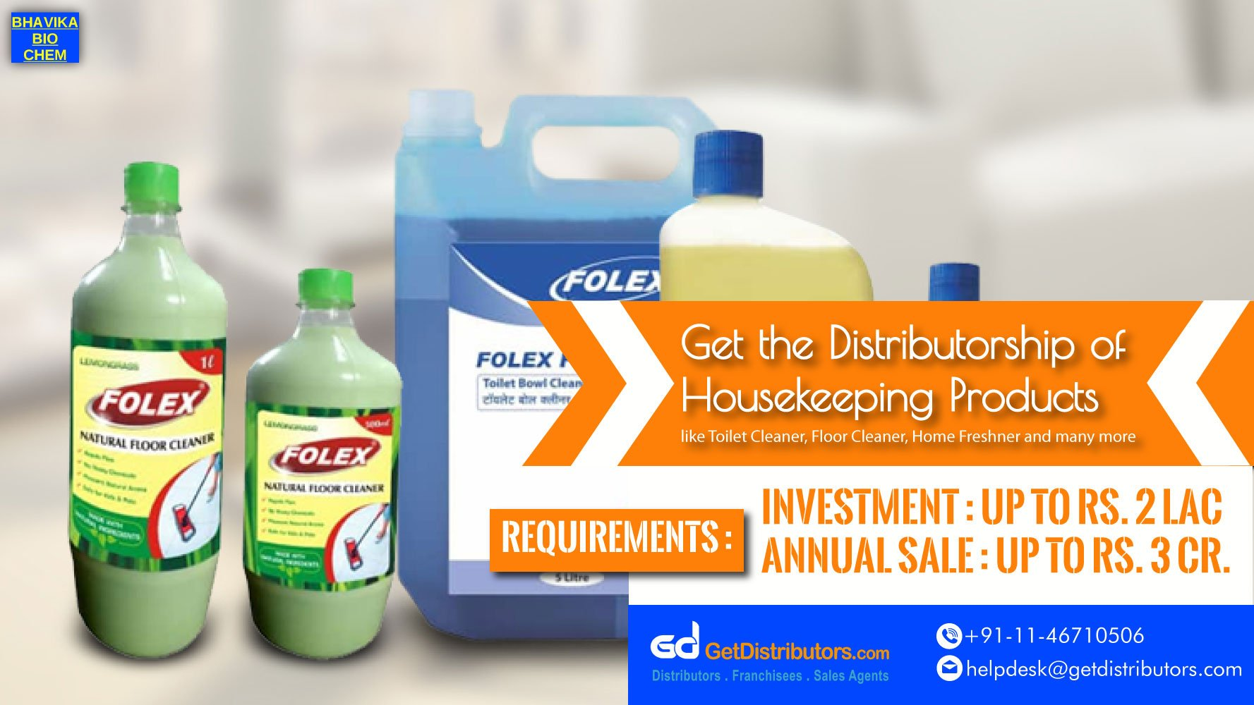 How To Take The Distributorship Of Non Toxic Chemicals At Budget Friendly Prices