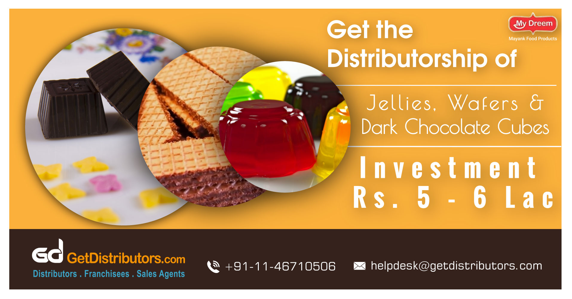 How To Take The Distributorship Of Confectionery & Bakery Items