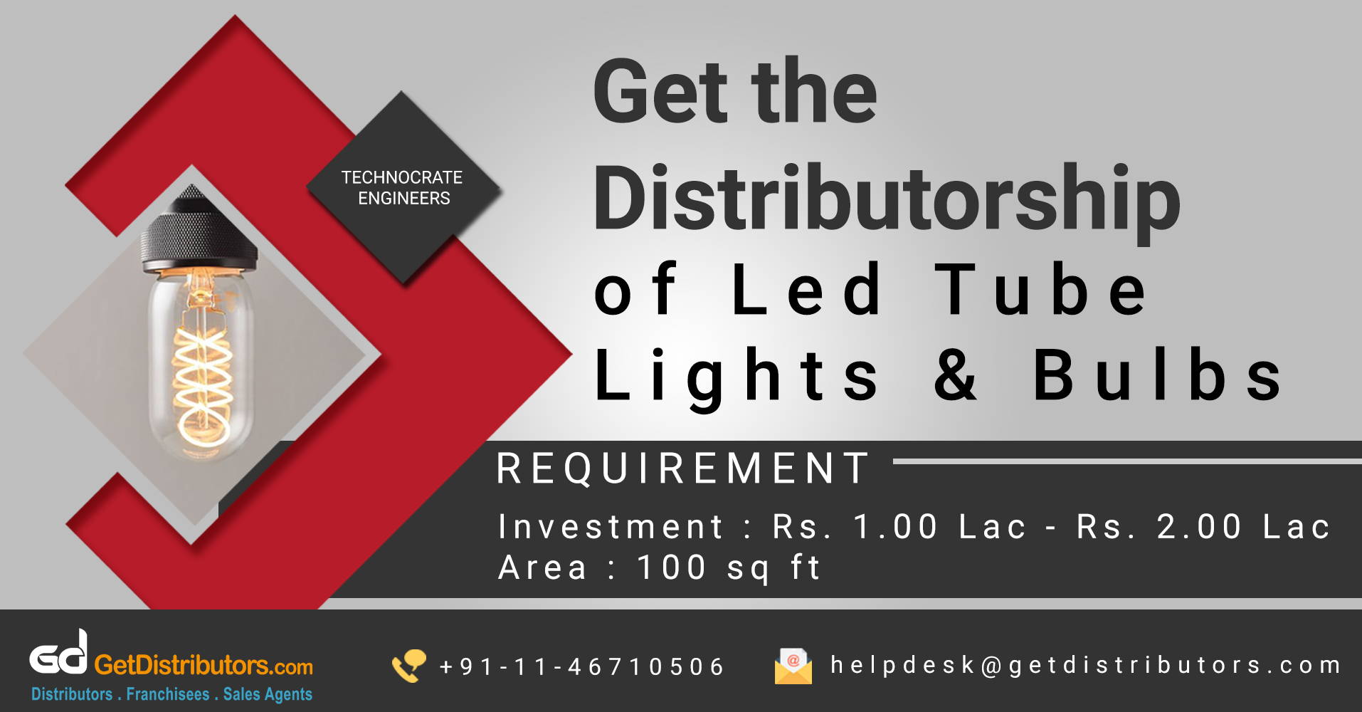 Reliable Lighting Products And Accessories Distributorship At Attractive Costs