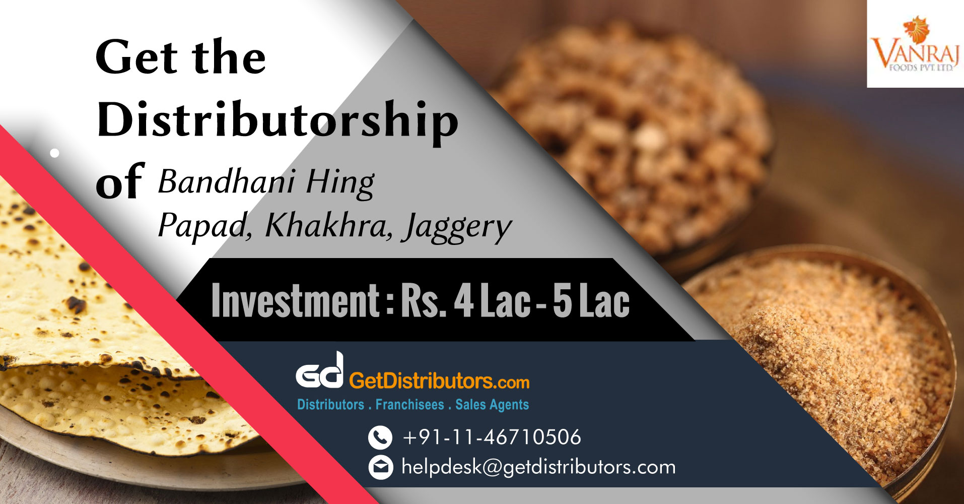 Distributorship Opportunities For Snacks And Spices