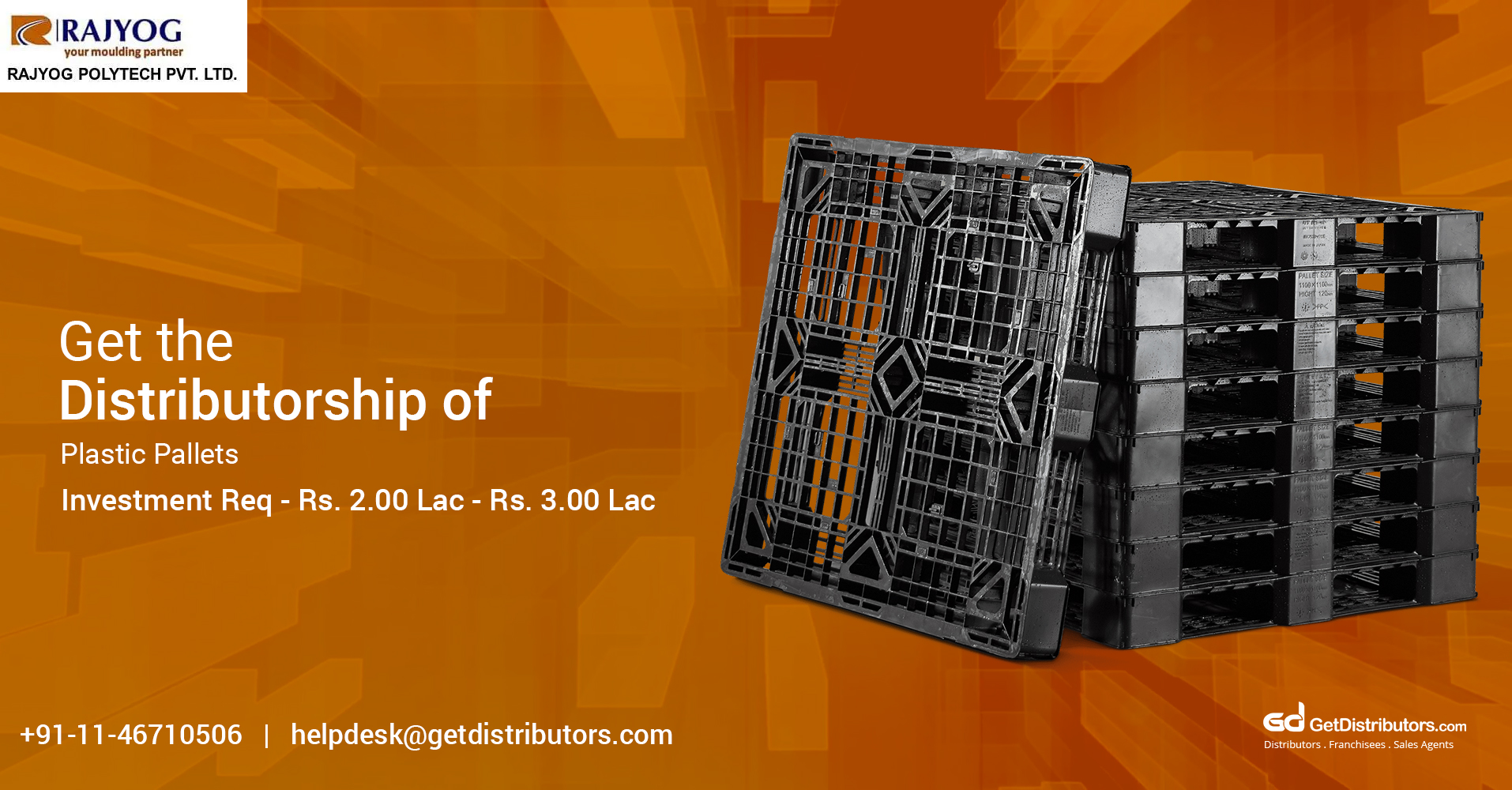 Highly Durable Plastic Pallets Distributorship Is Now Easy On Pockets