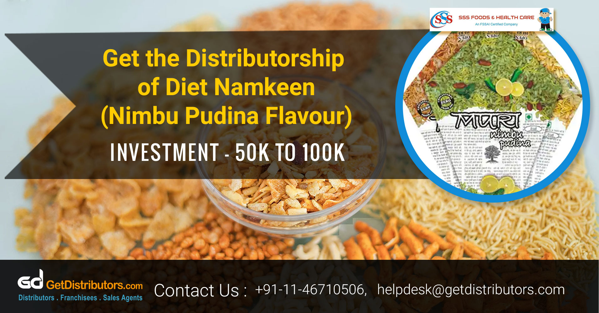How To Take The Distributorship Of Crispy And Crunchy Namkeen
