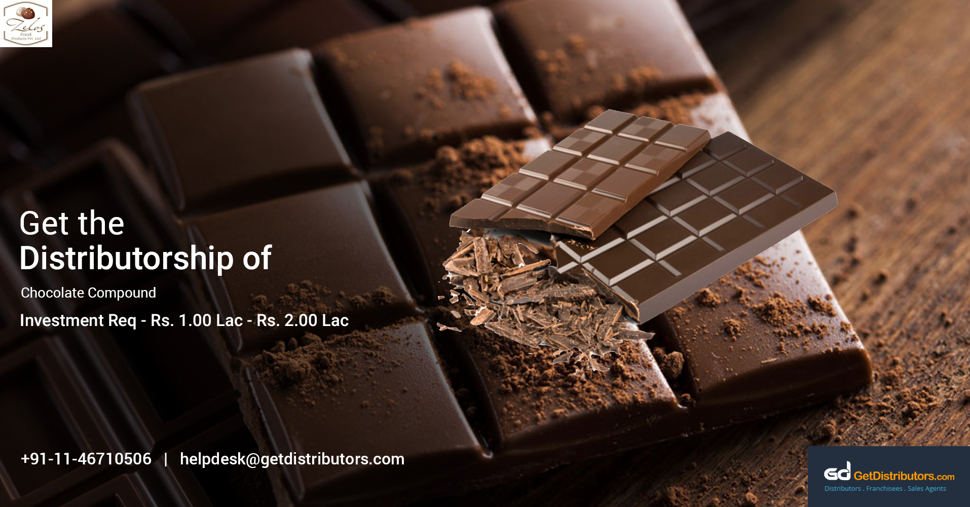 Offering Distributorship Of Finest Quality Chocolates At A Nominal Price