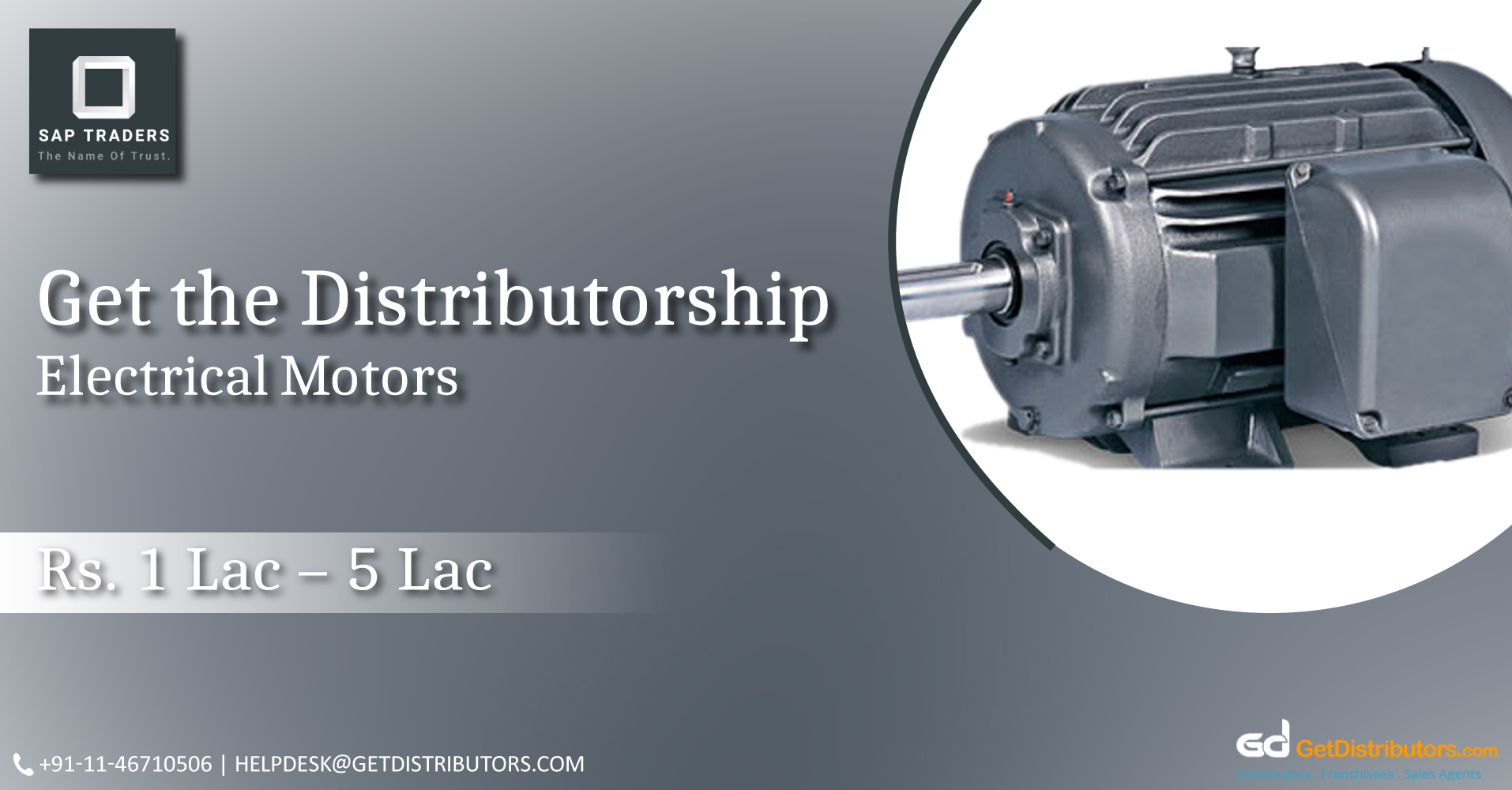 Distributorship Of Energy Efficient Motors At Reasonable Prices
