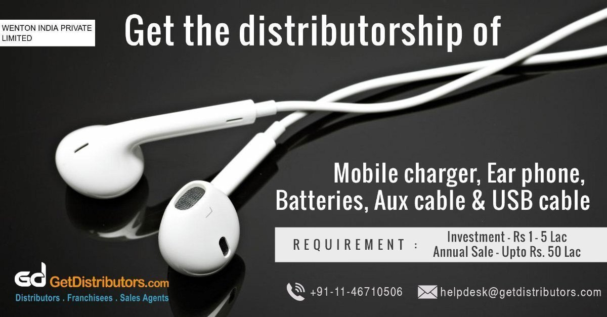 How To Take Distributorship Of Mobile Phone Accessories