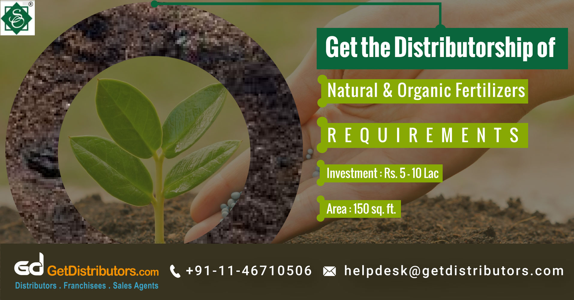 Distributorship Of Quality Assured Organic Agro Products