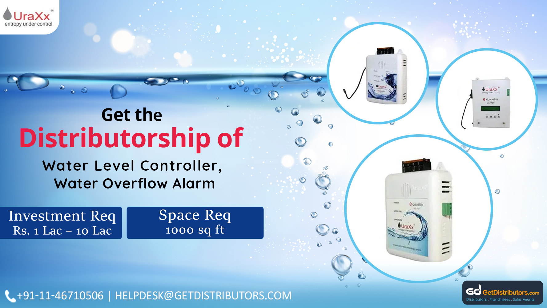 Durable Water Overflow Alarm Distributorship At Pocket Friendly Prices