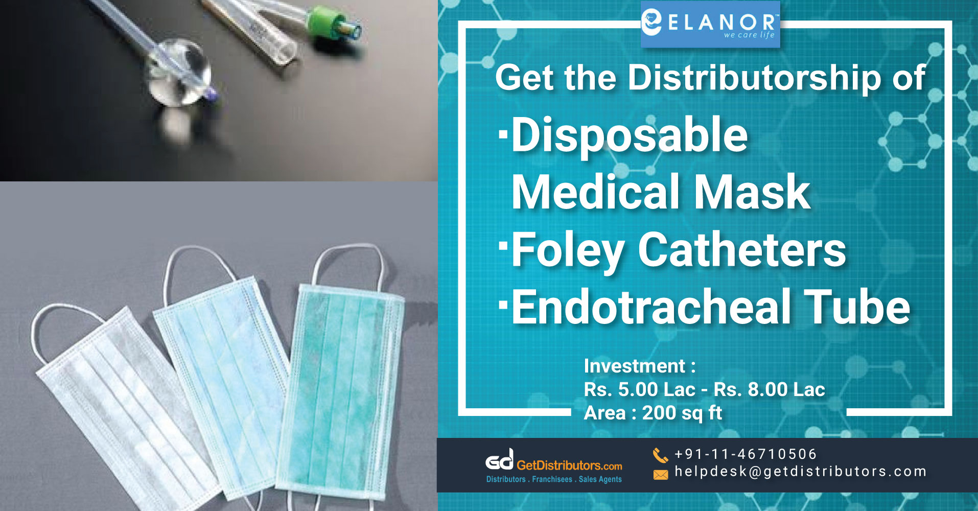 Surgical And Other Medical Equipment Distributorship At Pocket Friendly Rates
