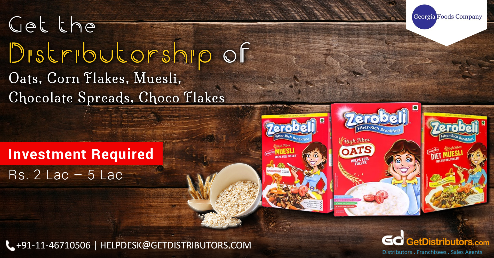 Quality Assured And Tasty Breakfast Cereals Distributorship At Attractive Prices