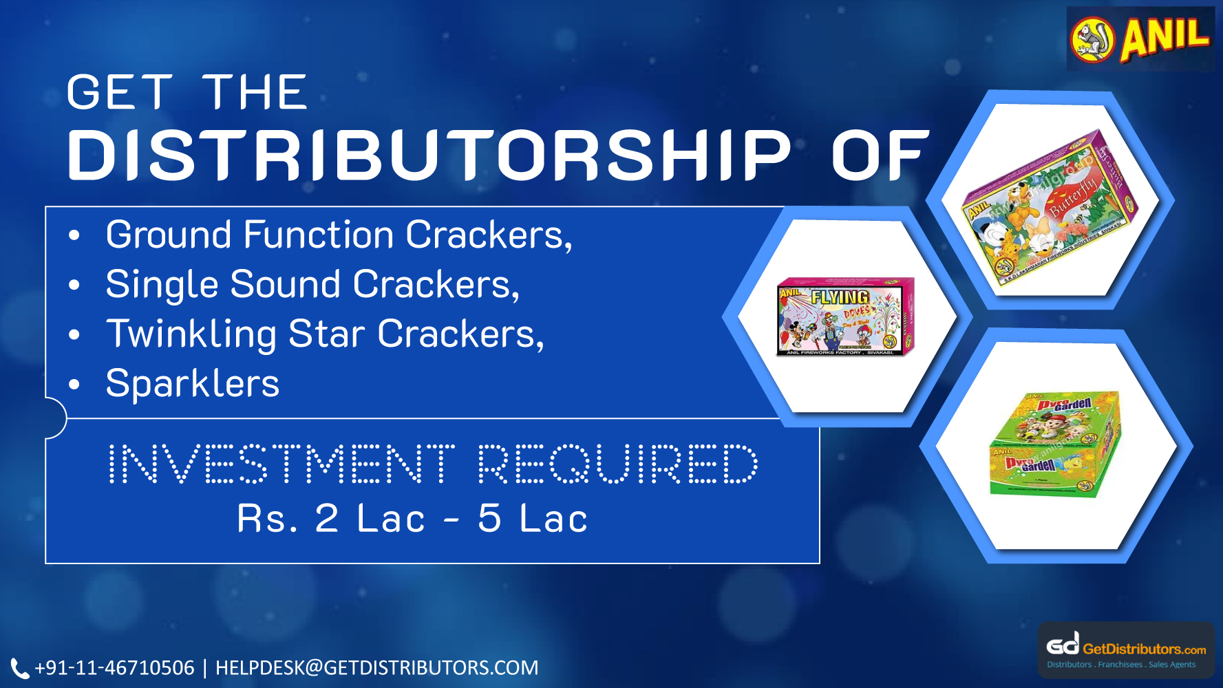 Anil Fireworks Factory Is Offering Premium Quality Firecrackers