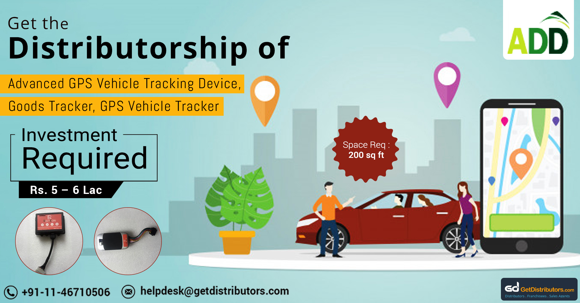 Distributorship Of Highly Functional And Easy To Use GPS Devices And Lot More