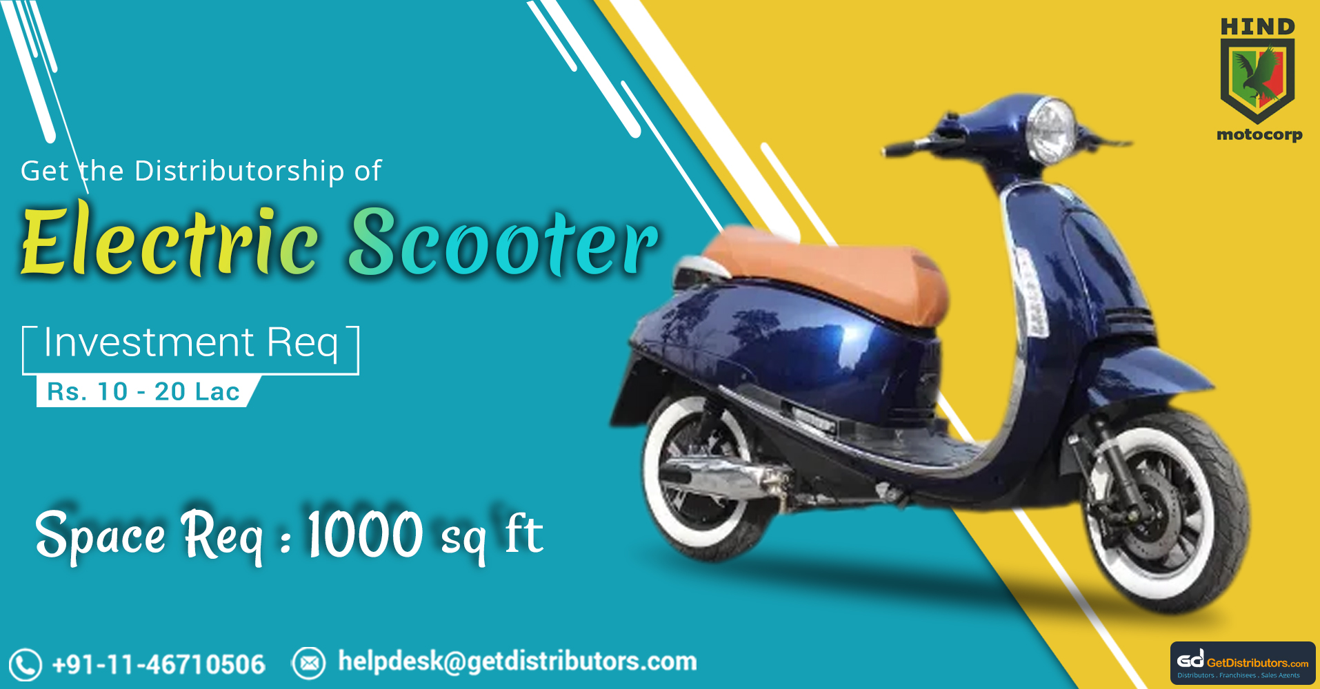 Eco-Friendly Electric Scooter And Bicycles Distributorship At Budget Friendly Prices