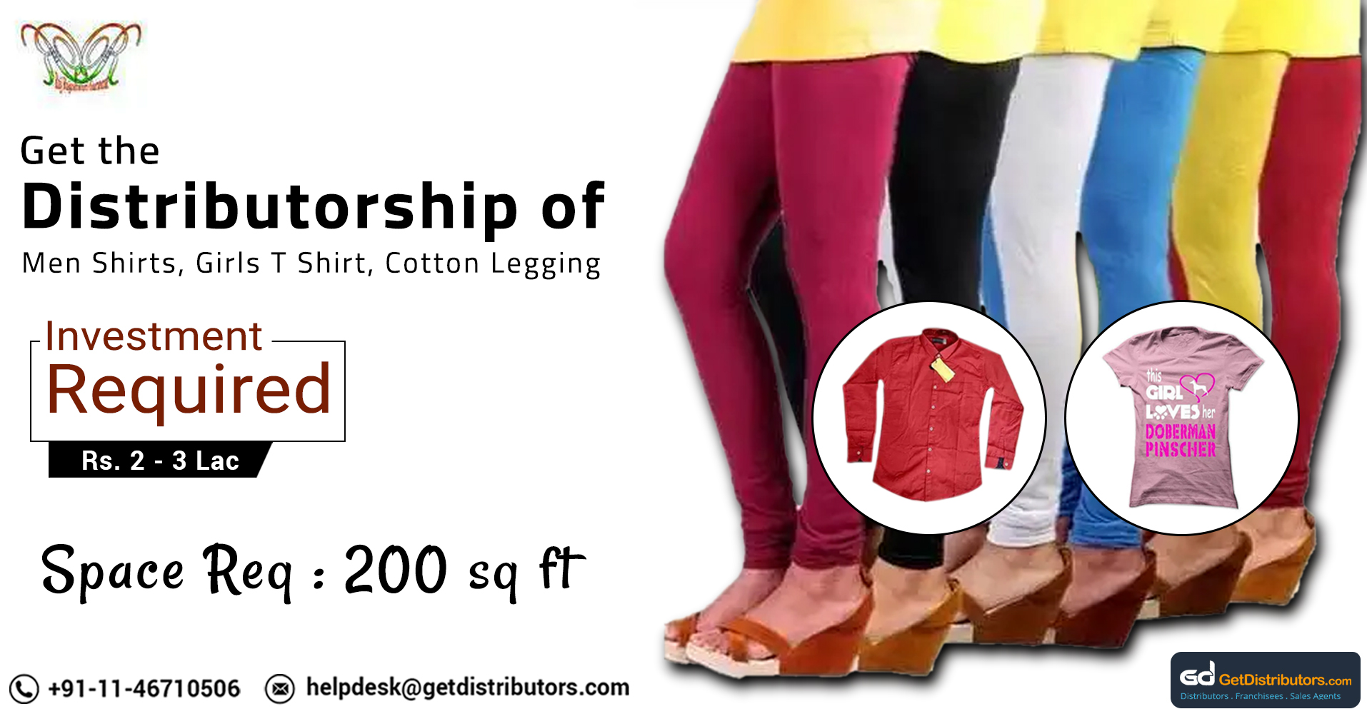 Get Distributorship Of Stylish Shirts, Leggings, Lowers And Lots More At Attractive Prices