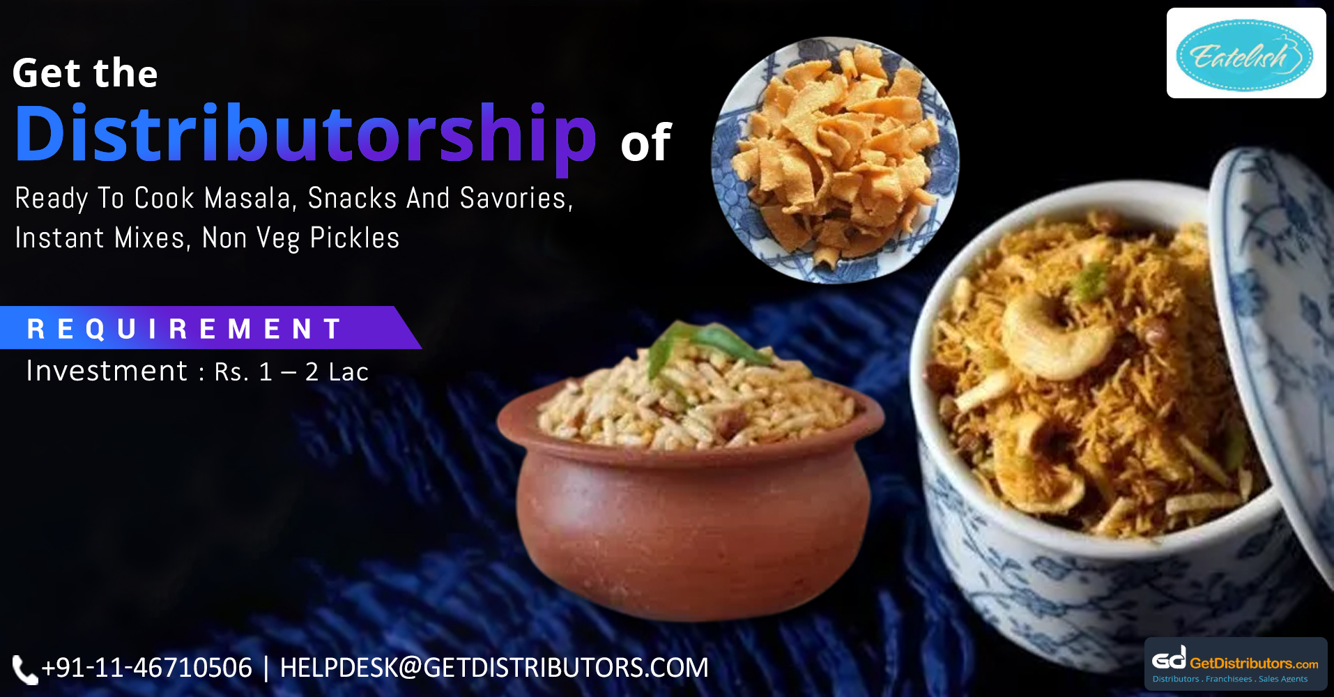 Offering Pure & Authentic Food Items At The Pocket-Friendly Price